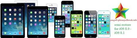 Restore iOS 8.1 – iOS 8.0 jailbroken device with semirestore 8 with preserving jailbreak - pangu8 | Vizual Business. | Scoop.it