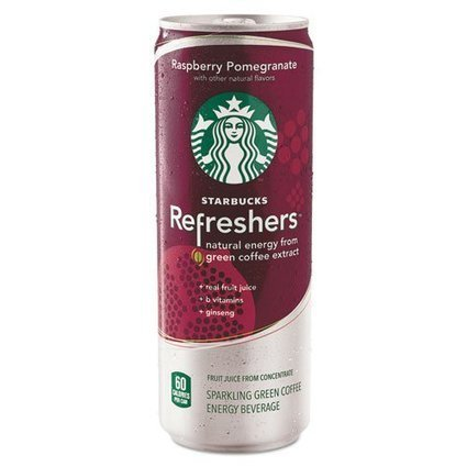 Starbucks Refreshers, Raspberry Pomegranate, 12oz Can | Best Energy Drinks Daily | Scoop.it