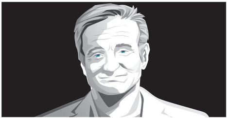 The Life and Times of Robin Williams | Infographics | Scoop.it