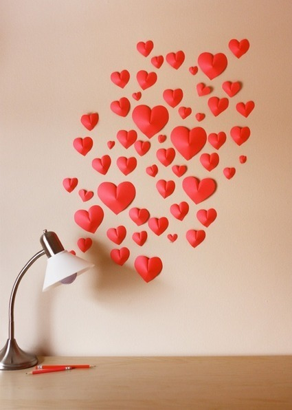 DIY : affichez votre amour pour la St Valentin ! | décoration & déco | Scoop.it