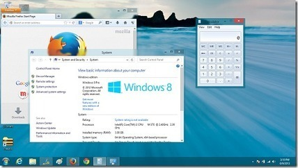 Get Aero Transparency And Blur On Windows 8: Aero Glass For Win8 | formation 2.0 | Scoop.it