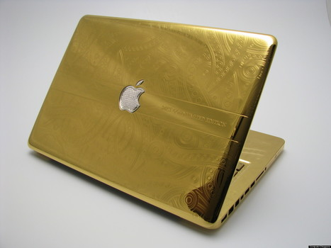 LOOK: Company Charges Thousands To Coat Your Apple Device In Gold | READ WHAT I READ | Scoop.it