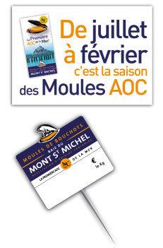 Comité de la Moule de Bouchots AOC de la Baie du Mont Saint Michel | Voyages et Gastronomie depuis la Bretagne vers d'autres terroirs | Scoop.it