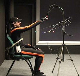 Interstices - Interactions en temps réel entre un acteur humain et un acteur virtuel   ART AND COMPLEXITY, ART ET COMPLEXITE   Scoop.it