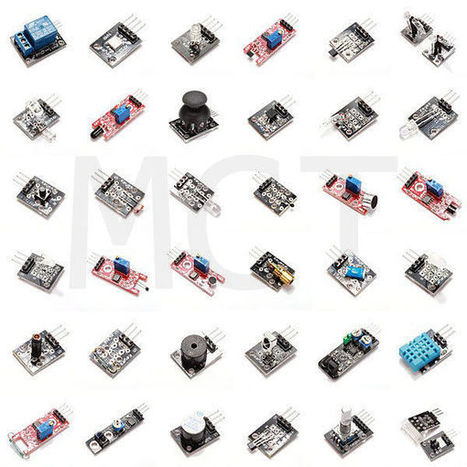 37 in 1 Sensor Kit - Arduino, BeagleBone, Freescale FRDM-KL25Z Compatible | Raspberry Pi | Scoop.it