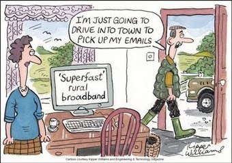 A land fit for hermits: why broadband speeds could become an election issue - ComputerWeekly.com (blog) | Business telecoms | Scoop.it
