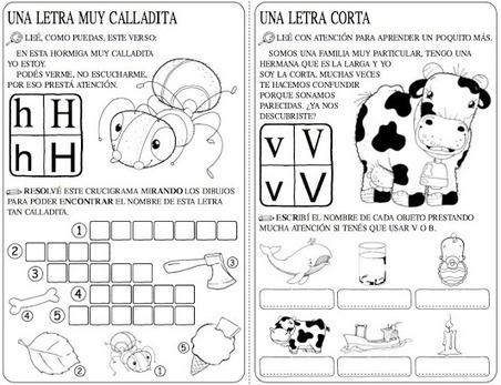 Fichas de lectoescritura para cada letra del abecedario ...   lectoescritura   Scoop.it