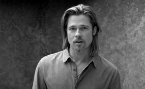 CHANEL : Pourquoi la marque a choisi Brad Pitt comme égérie de N°5 - 17/10/2012 | Chanel n°5 | Scoop.it