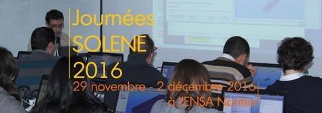 Journées SOLENE 2016 - Sciencesconf.org | Ambiances, Architectures, Urbanités | Scoop.it