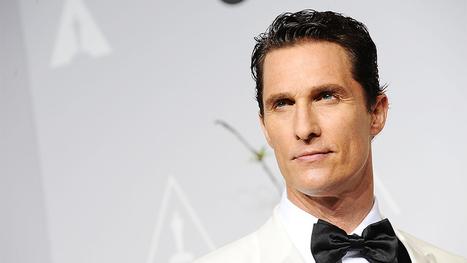 Matthew McConaughey to Receive American Cinematheque Award | WE SPEAK ENGLISH | Scoop.it