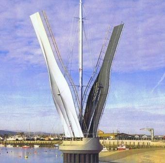 A Landmark Composite Pedestrian Bridge - SISAU | Transportation & Composites | Scoop.it