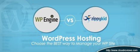 WP Engine vs. ZippyKid: Who Should You Go With & Why? | INFOGRAPHIC | Scoop.it