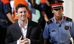 Lionel Messi cleared of tax fraud but prosecutors pursue his father - The Guardian | AC Affairs | Scoop.it