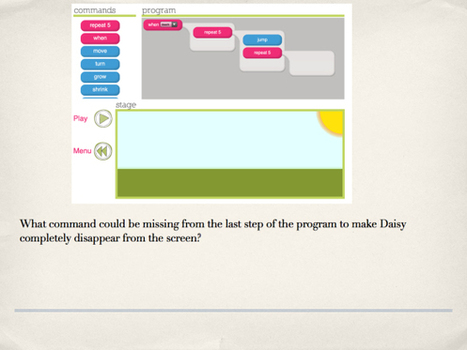 Engage Their Minds | Daisy the Dinosaur | Primary Computing | Scoop.it