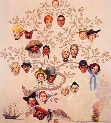 Des arbres généalogiques en peinture, art et ancêtres... | Yvon Généalogie | Rhit Genealogie | Scoop.it
