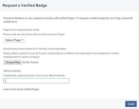 How I can verify my Facebook Page business & Personal 2015 | Mobile Tips and Tricks | Scoop.it