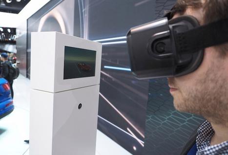 Réalité virtuelle: Audi aura des lunettes Oculus Rift chez ses détaillants | Usine du futur | Scoop.it