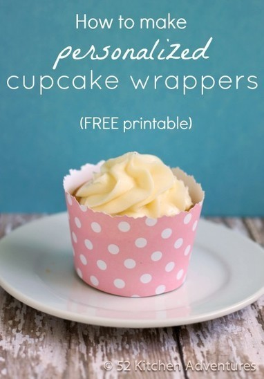 How to Make a Cupcake Wrapper | 52 Kitchen Adventures | Cupcake Magic | Scoop.it