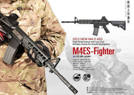 VFC M4ES AEG Fighter At Action Hobbies | Popular Airsoft | Airsoft Showoffs | Scoop.it