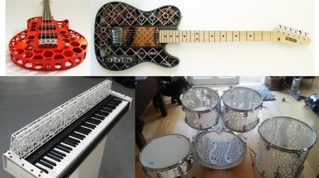 ODD band to play 3D-printed instruments at Frankfurt gig | GizMag.com | Music Instruments | Scoop.it