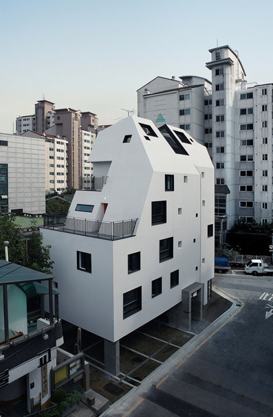 YOAP White House apartment block in Seoul by Design Band YOAP | Inspired By Design | Scoop.it