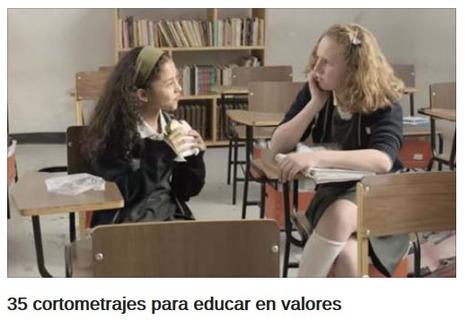 35 cortometrajes para educar en valores - Educación 3.0 | FOTOTECA INFANTIL | Scoop.it