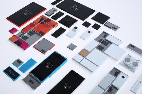 motorola's project ara modular smartphone hardware system - designboom   architecture & design magazine   Peer2Politics   Scoop.it