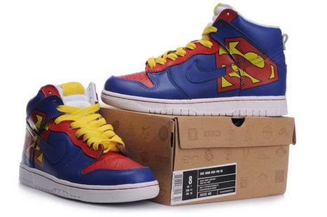 Superman Nikes,Superman Nike Dunk Shoes,Dunk High Superman Shoes | Superman Nike Shoes Superhero Dunks | Scoop.it