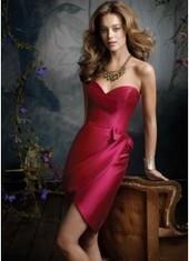 Sheath Column Sweetheart Floor Length Fuchsia Bridesmaid Dress Bbjh0010 for $226 | 2014 landybridal wedding party dresses | Scoop.it