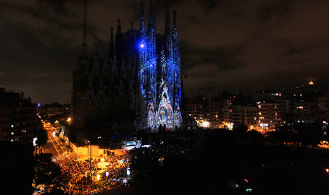 Ode à la vie on the Sagrada familia | Moment Factory | PROJECT | Culture, Innovation and New Technologies | Scoop.it