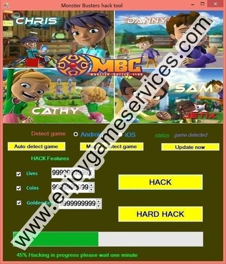 Monster Busters hack tool | game | Scoop.it