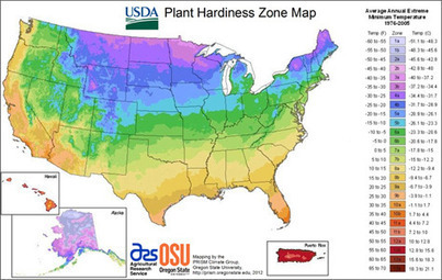 The Zones They Are a-Changin' | Remote Sensing News | Scoop.it