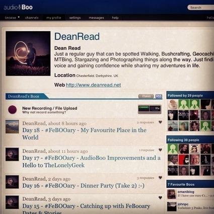 AudioBoo – FeBOOary « Dean Read dot net | Audioboo | Scoop.it