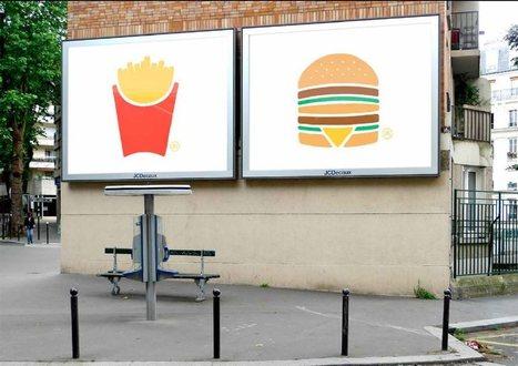 McDonald montre le coté intemporel de ses produits en créant 6 superbes print minimalistes | Design alimentaire | Scoop.it