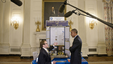 3DP @ 2015 White House Science Fair - 3D Printing Industry | Longevity science | Scoop.it