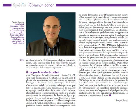 Callimedia interviewé dans la revue Spécial Communication Digitale | La revue de presse de Callimedia | Scoop.it