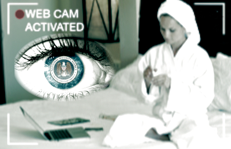 That's how you are being spied: NSA Webcam Spying Prank Goes Viral - Hack Read | News in english | Scoop.it