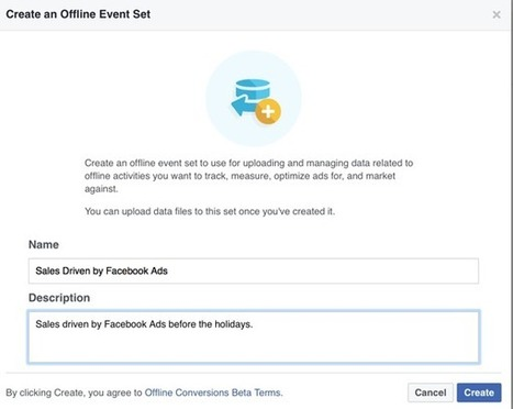 How to Use Offline Events Ads From Facebook #socialmediamarketing | MarketingHits | Scoop.it