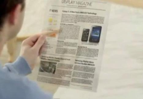 Samsung Display nous montre le «fioutoure» | Développement, domotique, électronique et geekerie | Scoop.it