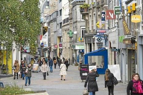Commerce. A Saint-Brieuc, le centre-ville se sent délaissé | Économie de proximité | Scoop.it