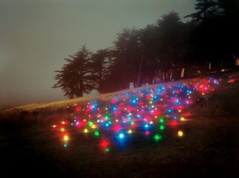 installation art - Barry Underwood's Light Art Installations | VIM | Scoop.it