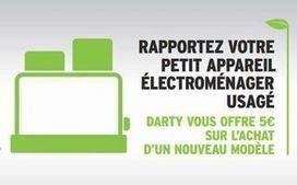 Darty reprends votre ancien petit électroménager 5 euros | Marketing et Electroménager | Scoop.it