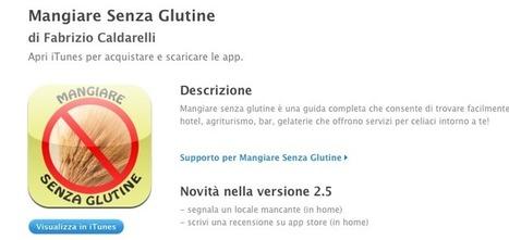 Mangiare Senza Glutine App iPhone e iPad | senza glutine | Scoop.it