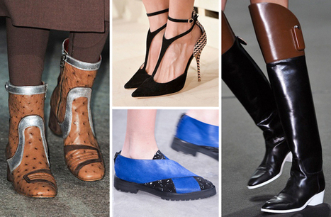 The Best Shoes of New York Fashion Week Fall 2014 | All about Shoes | Scoop.it