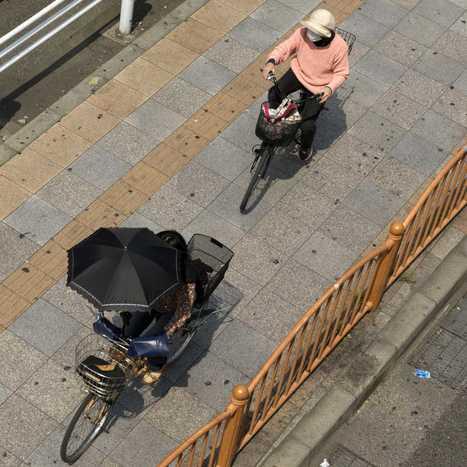 Série de photographie de la lenteur du Transsibérien au rythme effréné de Tokyo ARTISTIC LAB   Forum Vies Mobiles   Les temps de la ville   Scoop.it