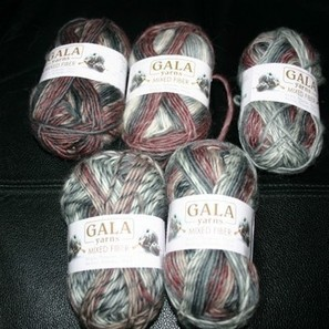One skein yarn ideas for your 'Gala Mixed Fiber' yarn | Needle and Hook Patterns-all free | Scoop.it