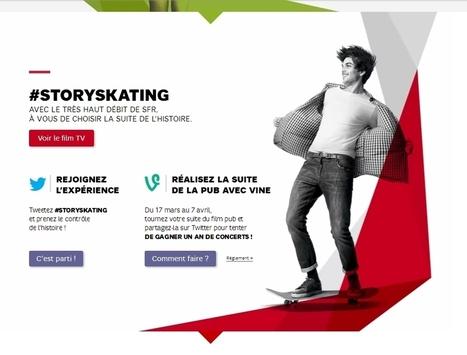 SFR allie Twitter à Vine pour promouvoir son offre 4G | Digital Business | Scoop.it