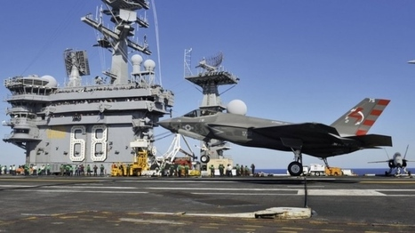 F-35C completes first carrier-based arrested landing - IHS Jane's 360 | Truck Access Platform, Ladder Platform & Aluminium Platforms | Scoop.it