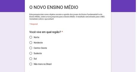 O NOVO ENSINO MÉDIO | Social U-Learning | Scoop.it