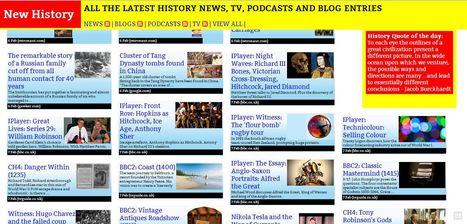 History in the News | Humanities curriculum news | Scoop.it